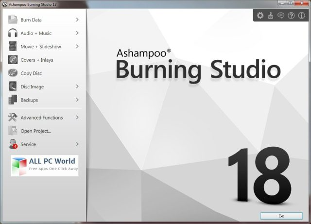Revisión de Ashampoo Burning Studio 18