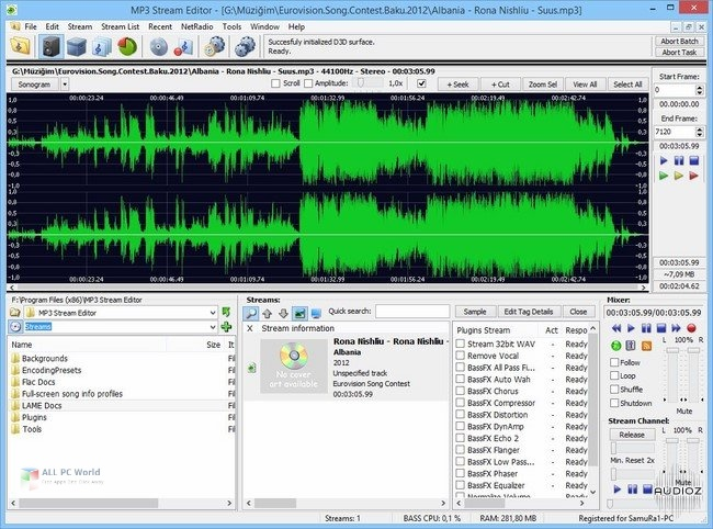3delite MP4 Stream Editor 3.4 Descarga gratuita