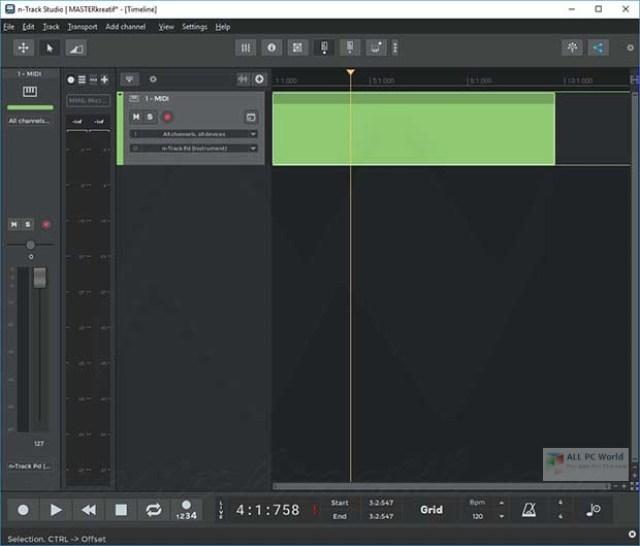 n-Track Studio Suite 2020 para Windows