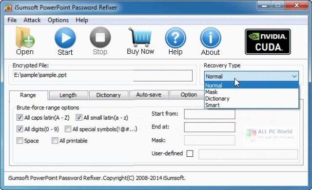 iSumsoft PowerPoint Password Refixer 4.1