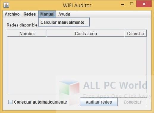 Revisión y características de WiFi Auditor 1.0