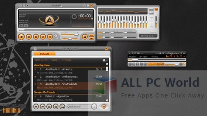 Revisión y características de AIMP Player 4.11.1839