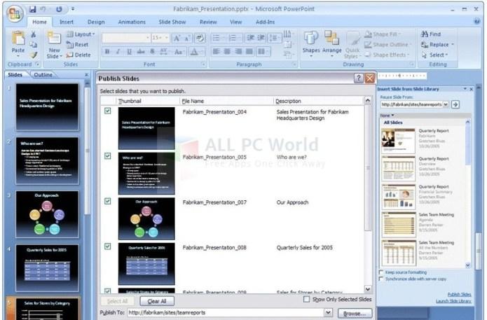 Revisión y características de Microsoft PowerPoint Viewer 2007