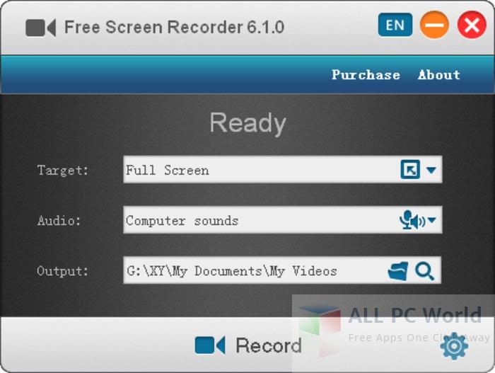 Descargar revisión gratuita del grabador de video en pantalla