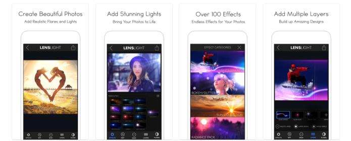 LensLight screenshots