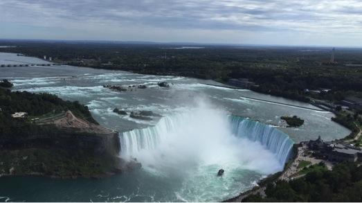 US Exchange - View of Niagara Falls