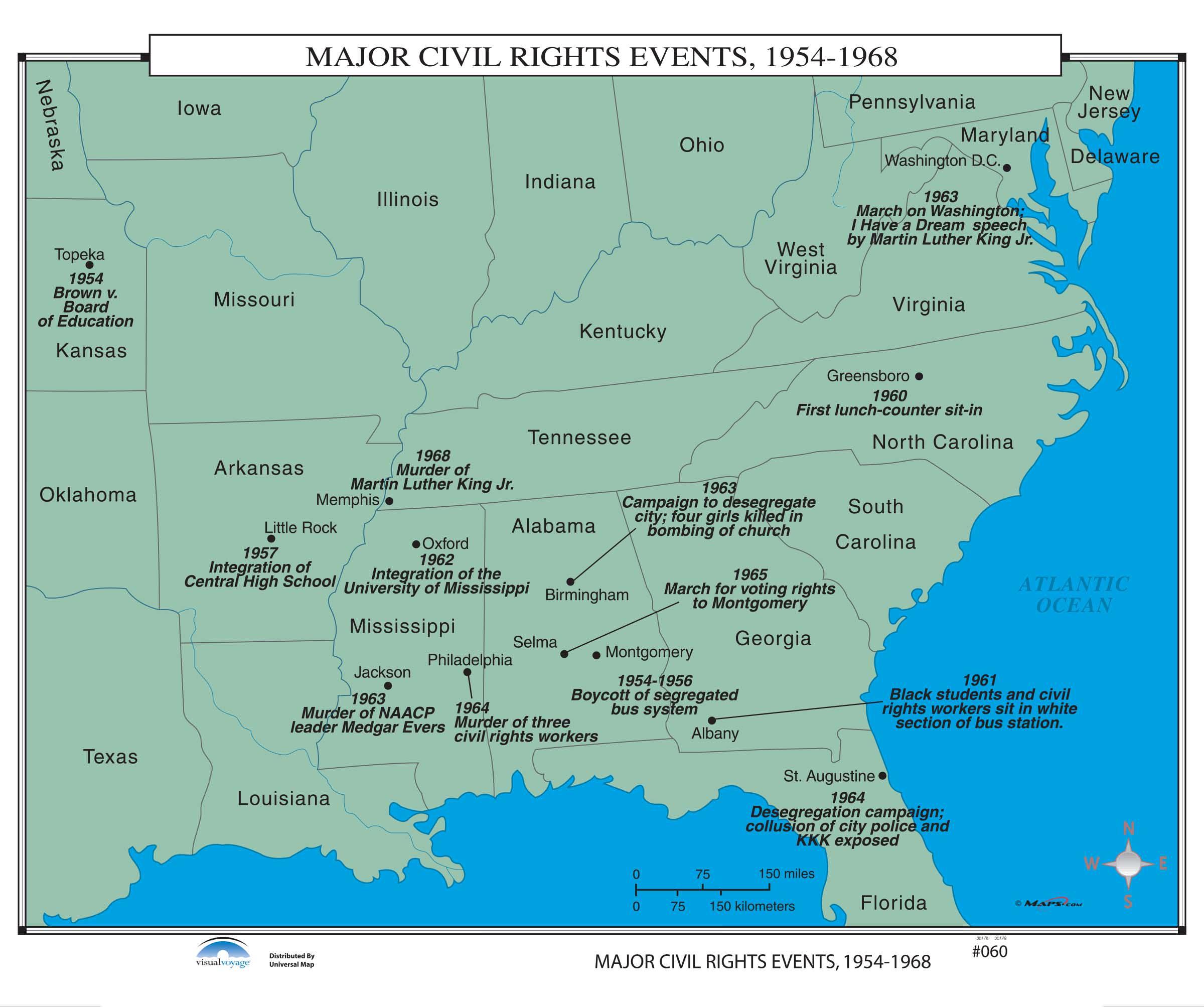 060 Major Civil Rights Events Kappa Map Group