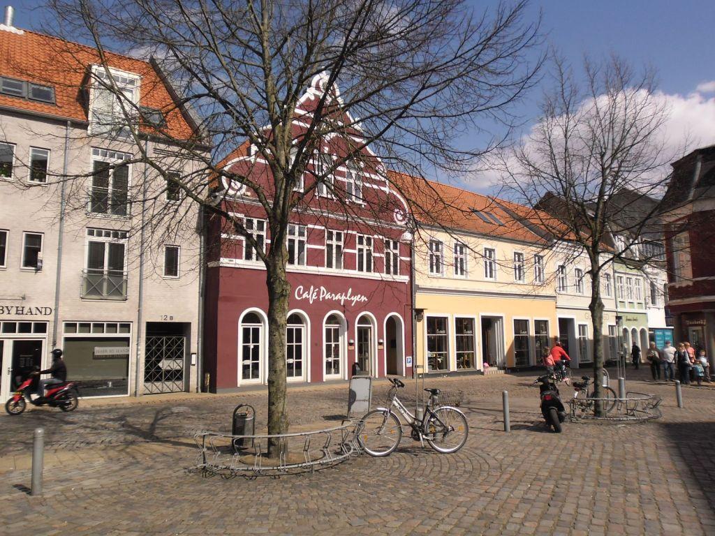 Duńskie miasteczko.