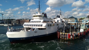 The ferry to Helsingør