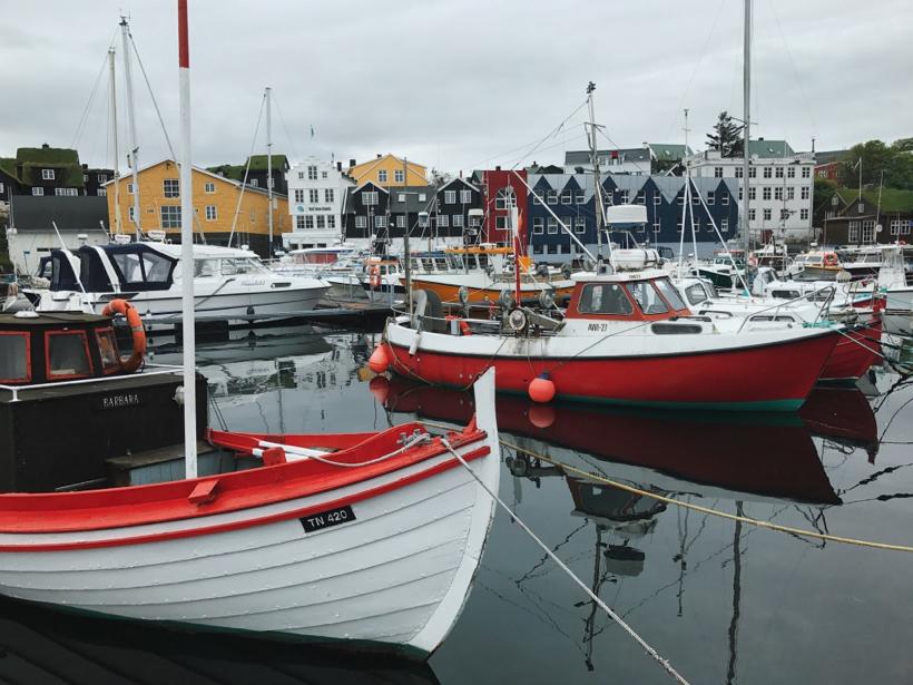 Torshavn, the smallest capital city in the world: Faroe Islands