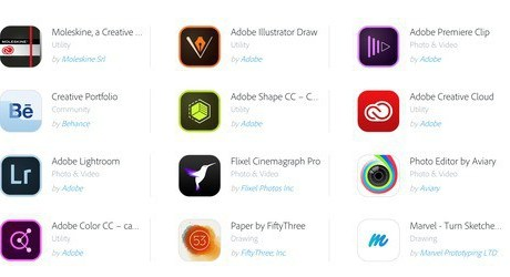 Adobe creative SDK partner