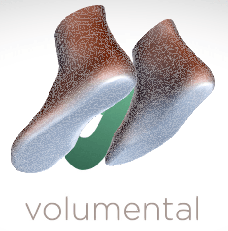 Volumental software can easily scan objects to create custom fit apparel