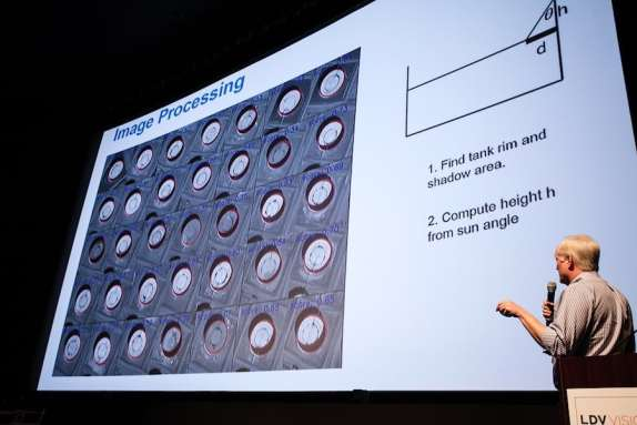 James Crawford Founder at Orbital Insight, Inc explains how visual tech can show worldwide oil reserve in near real time