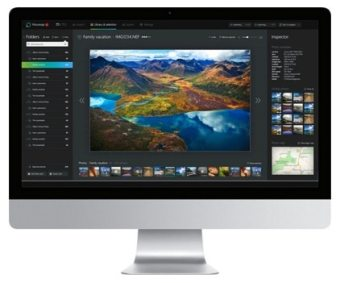 Picturesqe works on Windows for now, with a Mac version soon to be released