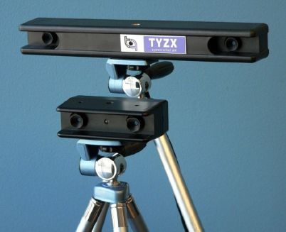 TYZX real-time 3D vision systems.