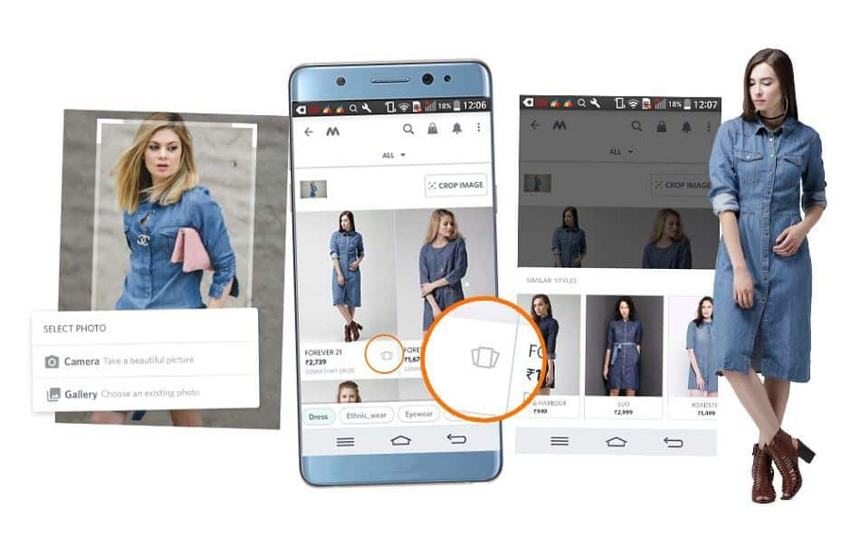Solution like Visenze visual search will be everywhere