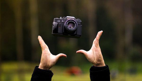 low hanging camera