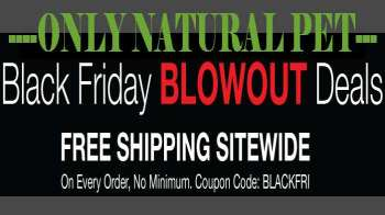 Huge Black Friday Pet Products Sale at Only Natural Pet