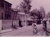 Carrera ciclista C/ Eugenia de Montijo (1958)