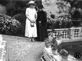 Eugenia de Montijo y la Reina Victoria Eugenia.