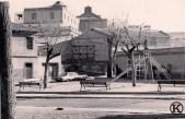 Actual Avda. de Carabanchel Alto a la altura del metro (años 70)
