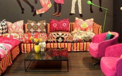 Nueva imagen con telas africanas Wax