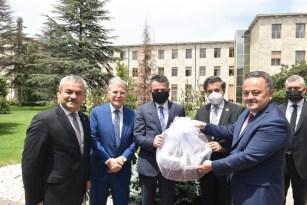 AK Parti Karabük heyetinden Bakan Pakdemirli'ye ziyaret