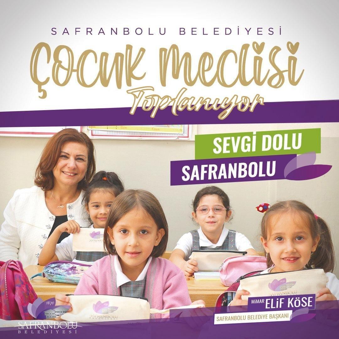 Safranbolu Çocuk Meclisi ilk toplantısını yarın gerçekleştirecek