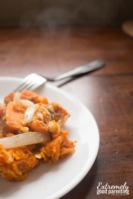 Instant Pot Sweet Potato & Butternut squash hash