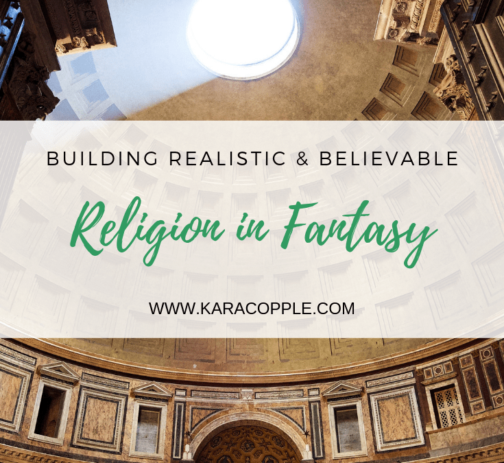 religion in fantasy novel