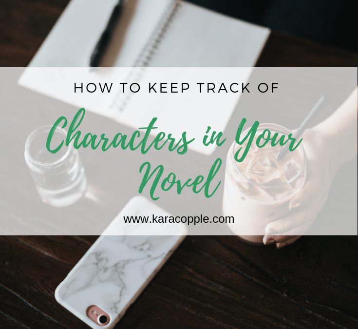 How to Keep Track of 101 Characters in Your Novel
