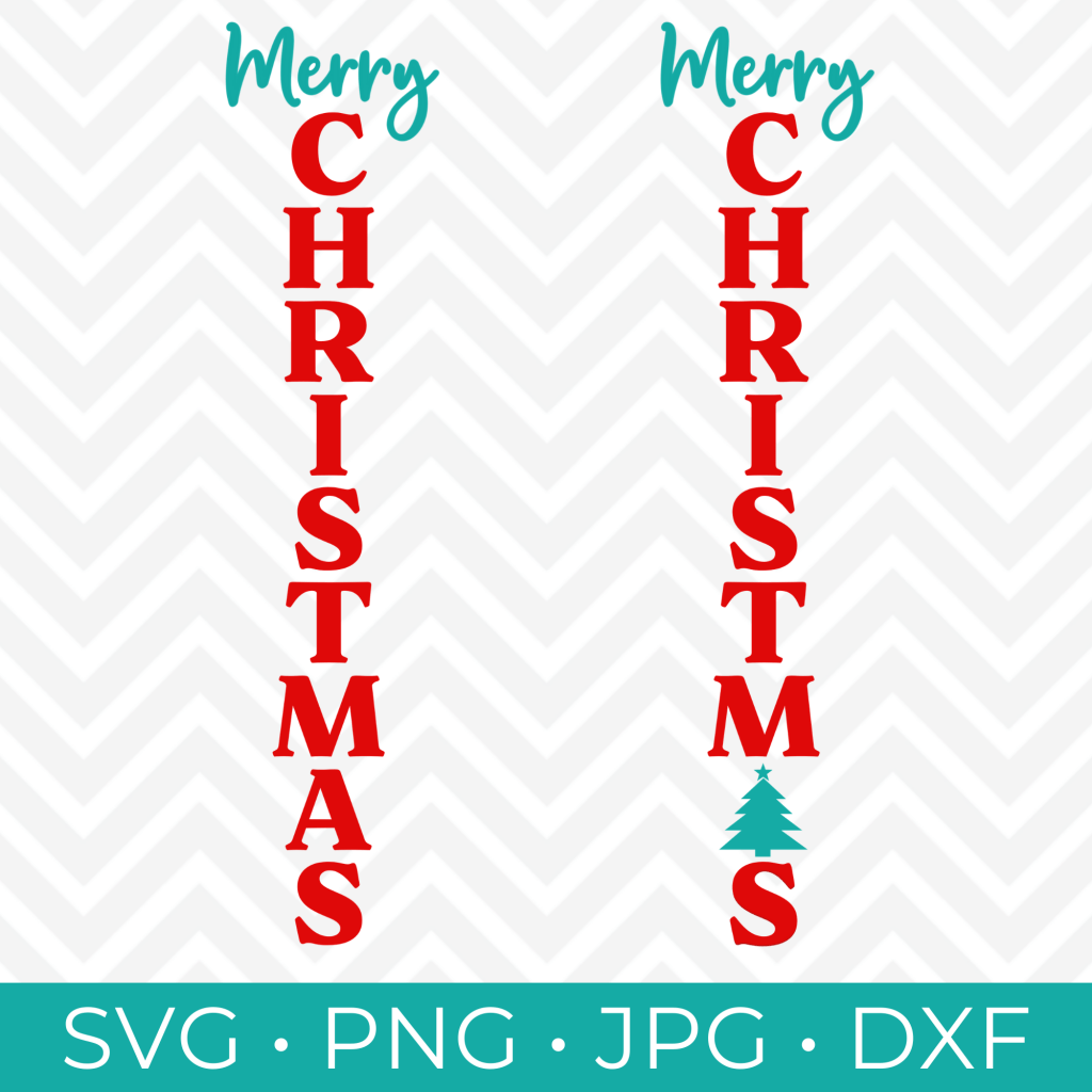 Retro rise and shine from crafting in the rain. Christmas Porch Sign Svg Christmas Vertical Svg Kara Creates