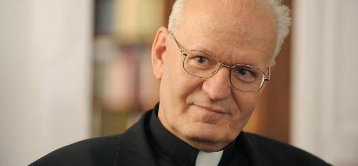 Erdő Péter a Szent István-bazilikában mondott beszédet
