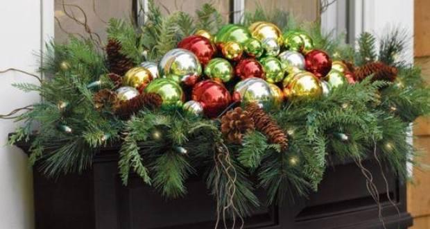 Nagyon jó! Karácsonyi design a virágosládákra