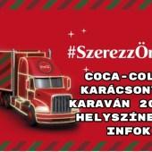Coca-Cola Karácsonyi Karaván 2018: helyszínek, infok