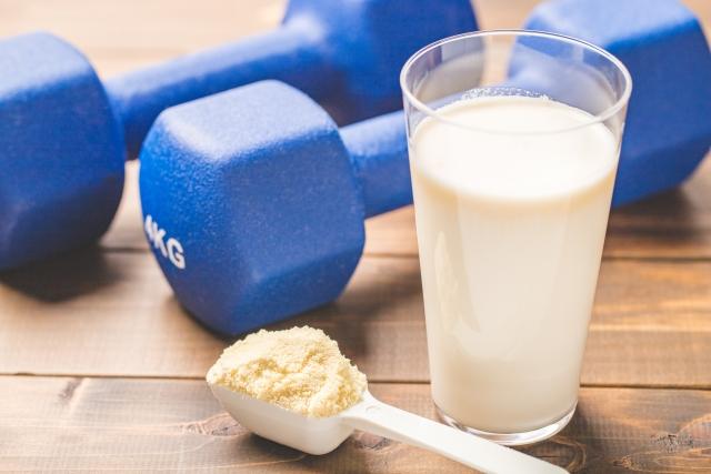 プロテインはダイエットとトレーニングにおすすめ