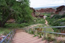 staircase to Red Rock Ampitheatre Beachin Traveler
