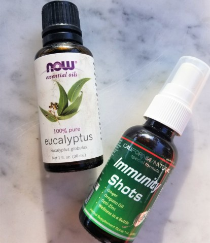 Immunity Shot and Eucolyptus Oil