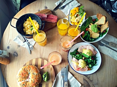 Brunch and Cake: all types of unique breakfast food