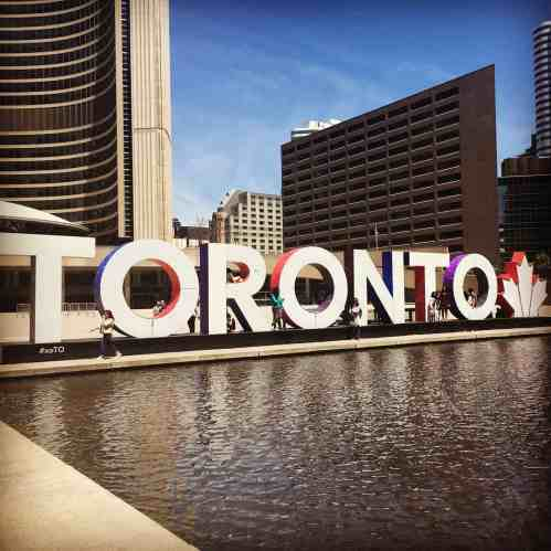 Toronto Canada and Prayer is a Privilege