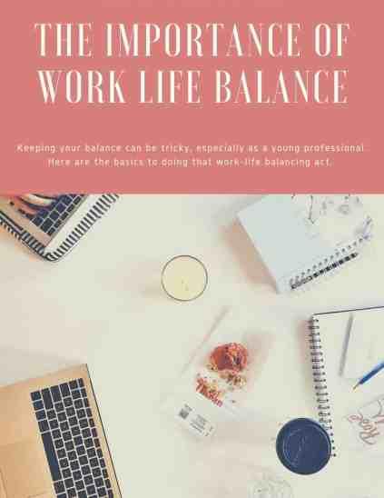 maintaining work life balance - 5