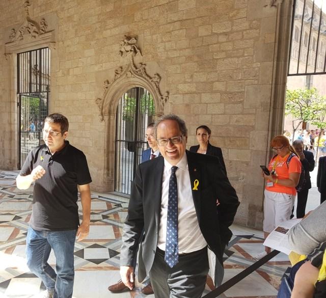 Katalonijas prezidents Kims Torra