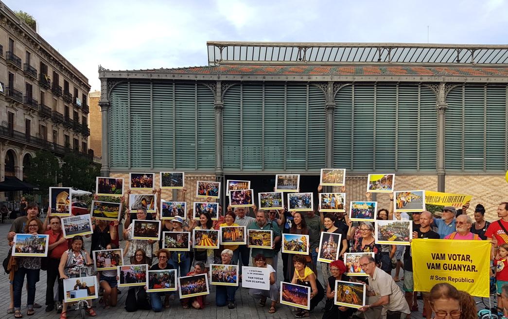 El Born, demonstrācija politieslodzīto atbalstam