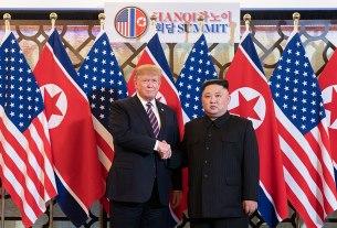 D. Trampa un K. Čenuna tikšanās Hanojā