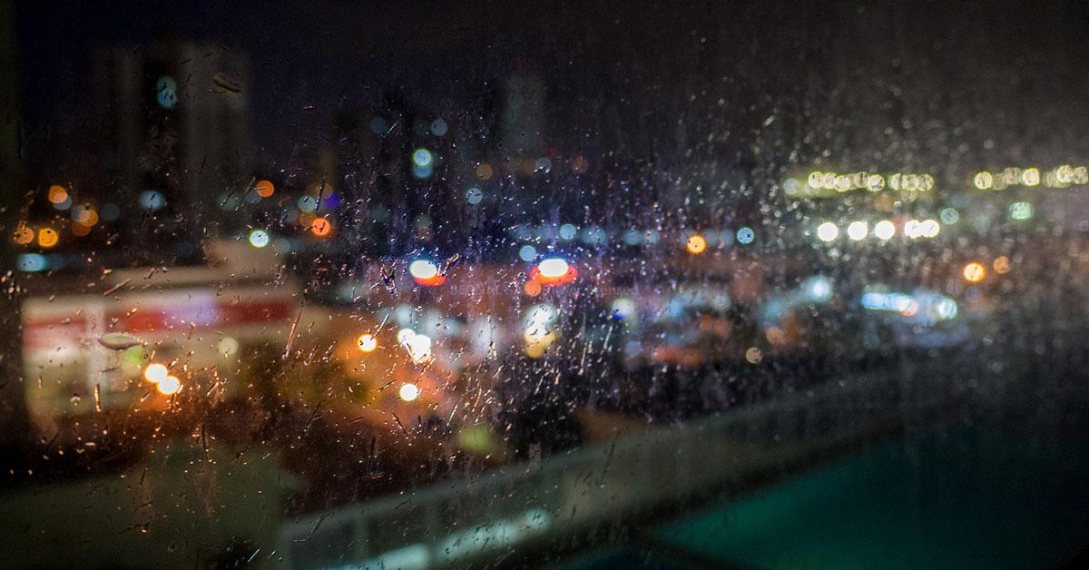 rainy night blues