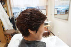 50代ショートヘア