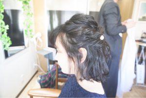 #尼崎市#武庫之荘#お呼ばれヘア#美容室