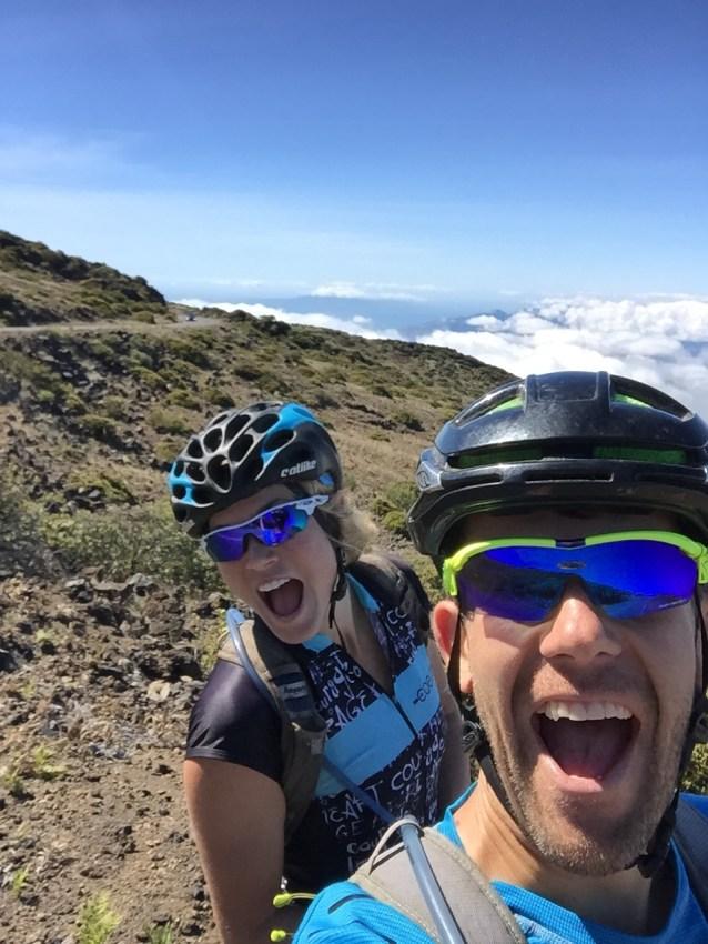 Half-way up Haleakala!