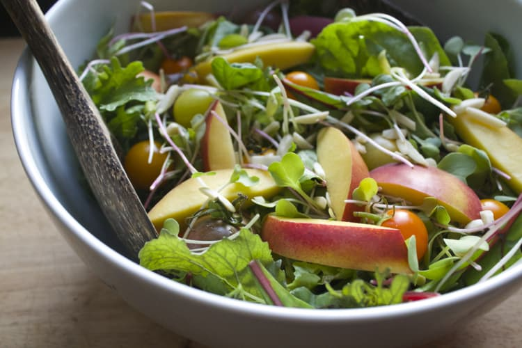 Summer Power Salad with Chia Dressing | The Foodie Dietitian