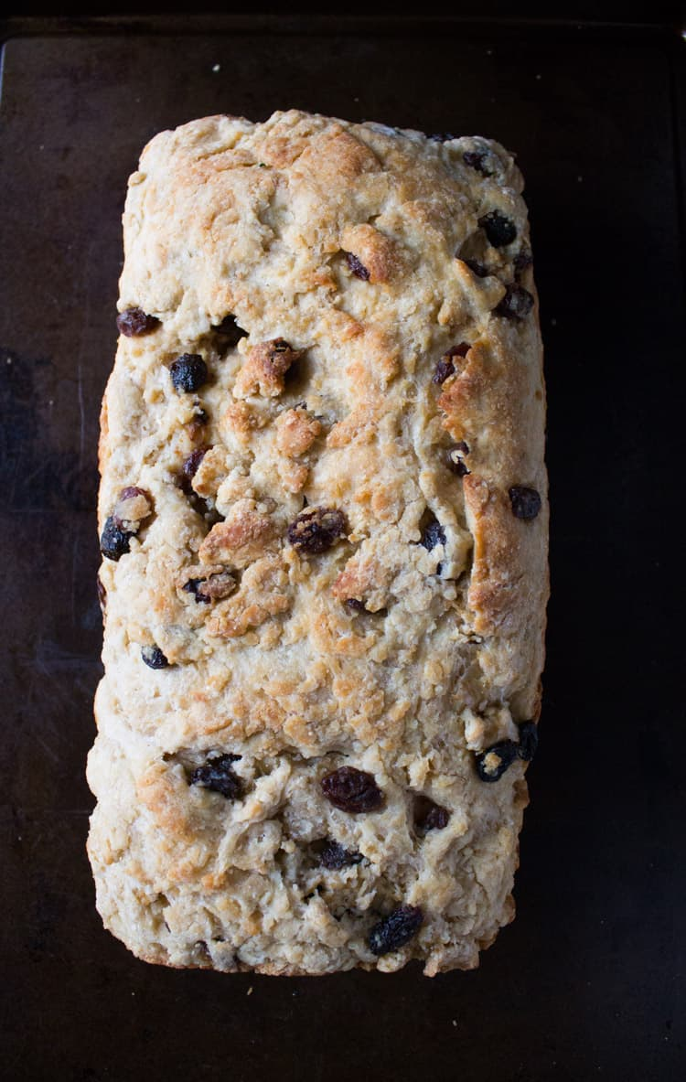 Gram's Irish Raisin Bread-1